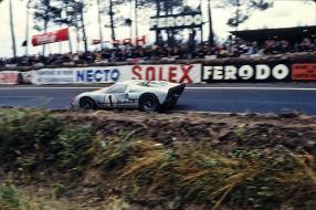 Ford GT40 Miles Le Mans 1966, copyright Foto: Zantafio56