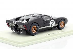 modelcars Ford GT40 Mk. II No. 2 winner Le Mans 1966 1:43