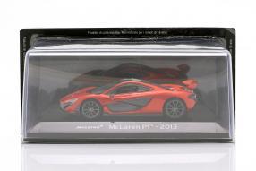 diecast miniatures McLaren P1 2013 1:43