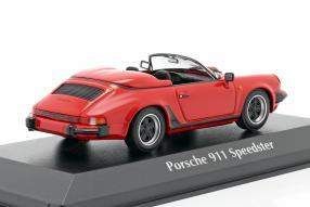 diecast miniatures Porsche 911 Speedster 1988 1:43 Maxichamps