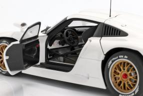 diecast miniatures Porsche 911 GT1 1997 1:18