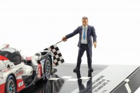 miniatures Toyota TS050 No. 7 / No. 8 2018 1:43