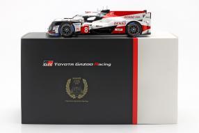 Toyota TS050 hybrid No. 8 Le Mans 2018 1:18