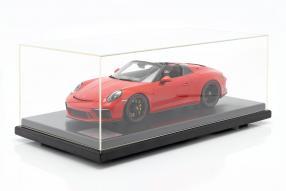 Mit Vitrine / with showcase: Porsche 911 991 II Speedster 2019 1:12