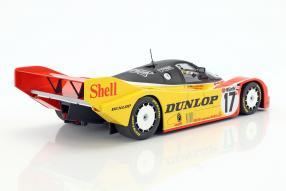 diecast miniatures Porsche 962C 1987 1:18