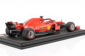 miniatures Ferrari SF71H 2018 1:18 Vettel