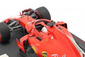 modelcars Vettel Ferrari SF71H 2018 1:18