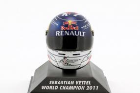 Vettel Helm Redbull 2011 1:8 Minichamps