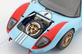 diecast miniatures Ford GT40 Mk. II No. 2 winner Le Mans 1966 1:12