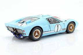 modellautos Ford GT40 Mk. II No. 2 winner Le Mans 1966 1:12