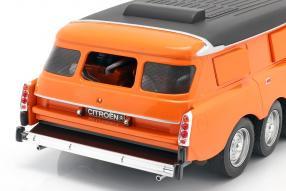 diecast miniaturs Citroën DS Mille Pattes Michelin 1972 1:18
