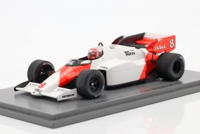 McLaren MP4/2 1984 1:43 Spark, Niki Lauda