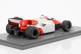 miniatures McLaren MP4/2 1984 1:43 Spark, Niki Lauda