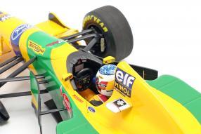 diecast miniatures Schumacher Benetton B193B 1:18 Minichamps