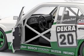 diecast miniatures Mercedes-Benz 190 E 2.5-16 Evo II Schumacher 1991 1:18