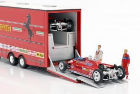 automodelli Renntransporter Ferrari Fiat 190 1981 1:43 Brumm