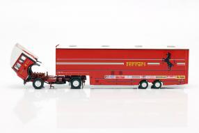 modelcars Renntransporter Ferrari Fiat 190 1981 1:43 Brumm