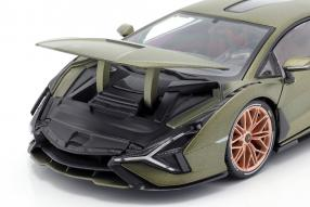 diecast miniatures Lamborghini Sian FKP 37 2020 1:18
