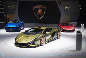 Lamborghini Sian FKP 37 2020, IAA 2019, copyright: Automobili Lamborghini S.p.A.
