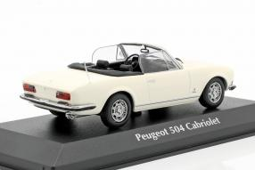 diecast miniatures Peugeot 504 1977 1:43 Maxichamps by Minichamps