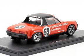 diecast miniatures VW-Porsche 914/6 1971 1:43