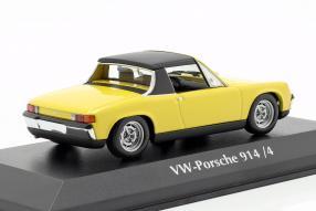 diecast miniatures VW-Porsche 914/4 1972 1:43