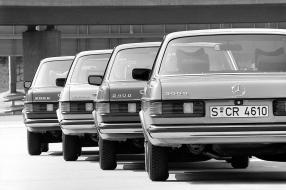 Mercedes-Benz W 123 Diesel-Versionen, copyright Foto: Daimler AG