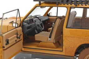 modelcars Land Rover Range Rover 1981 Camel Trophy 1:18