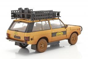 diecast miniatures Land Rover Range Rover 1981 Camel Trophy 1:18