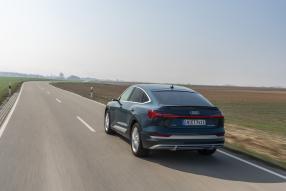 Audi e-tron Sportback 2020 plasmablau, copyright Foto: Audi AG