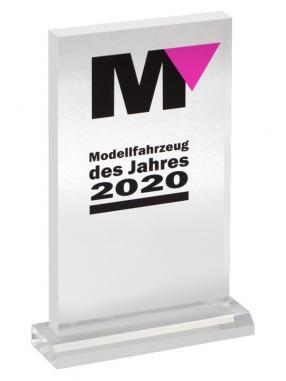 Pokal Modellfahrzeug des Jahres 2020