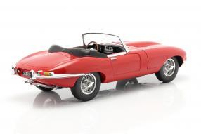 modelcars Jaguar E-Type Roadster 1962 1:12 Norev