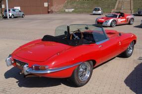 Jaguar E-Type Roadster 1962, copyright Foto: Alf van Beem