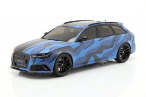 Audi RS6 C7 2019 camouflage 1:18 GT-Spiritmodels