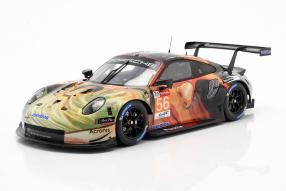Porsche 911 RSR Nr. 56 LMGTE Am Le Mans 2019 1:18