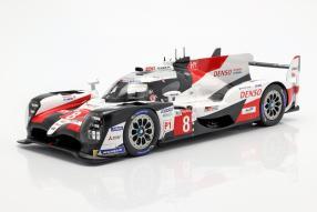 miniatures Toyota TS050 No. 8 Le Mans 2019
