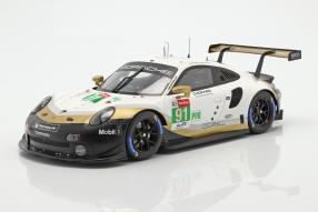 Porsche 911 RSR Nr. 91 LMGTE Pro Le Mans 2019 1:18
