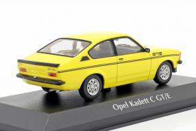 diecast miniatures Opel Kadett GT/E Coupé 1978 1:43