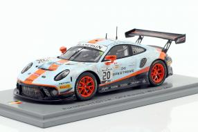 Porsche 911 GT3 R No. 20 winner 24h Spa 2019 dirty race version 1:43 Spark