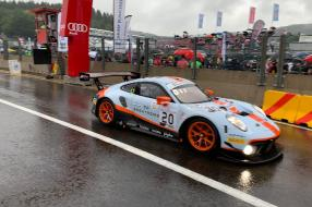 Porsche 911 GT3 R No. 20 winner 24h Spa 2019, copyright Foto: CK