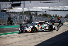 Porsche 911 GT3 R 2020 Test Lausitzring, Foto: Team75 Motorsport, Gruppe C Photography