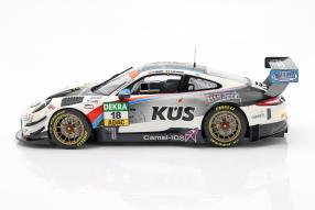 diecast miniatures KÜS Team75 Motorsport Porsche 911 GT3 R 2018 1:18 Minichamps