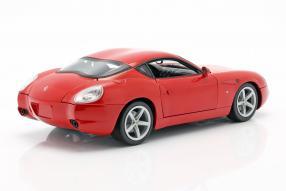 diecast mi niatures Ferrari 575 GTZ Zagato 1:18 HotWheels