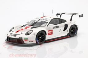 Porsche 911 RSR WEC 2019 1:18 Spark