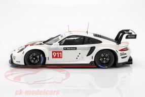miniatures Porsche 911 RSR WEC 2019 1:18 Spark