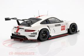 modelcars Porsche 911 RSR WEC 2019 1:18 Spark
