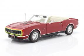 Chevrolet Camaro SS Convertible 1968 1:18