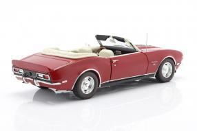 modelcars Chevrolet Camaro SS Convertible 1968 1:18