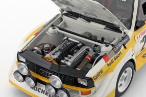 diecast miniatures Audi sport quattro S1 1986 1:18