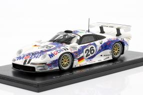 modelcars Porsche 911 GT1 #24hLeMans #LEMANS24 1996 1:43